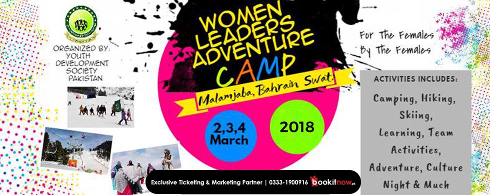 women leaders adventure camp