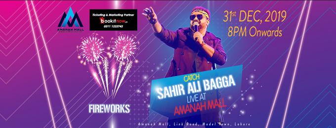 Sahir Ali Bagga-Amanah Mall-New Year