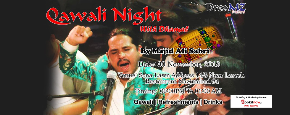qawali night (with dhamal)