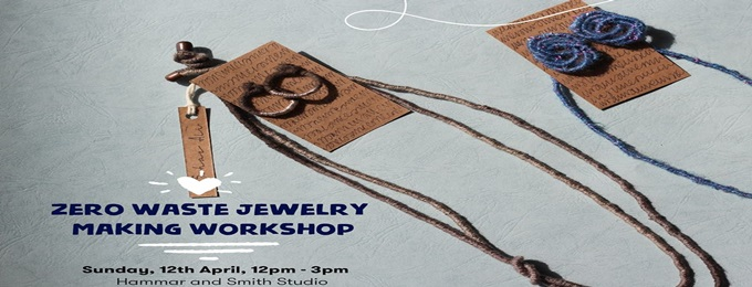 zero waste jewelry making workshop