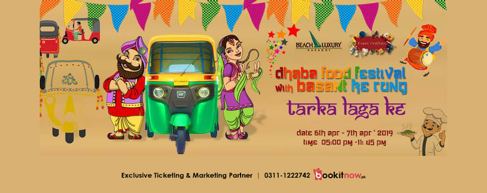 dhaba food festival with basant ke rung ( season 1) #dffs1