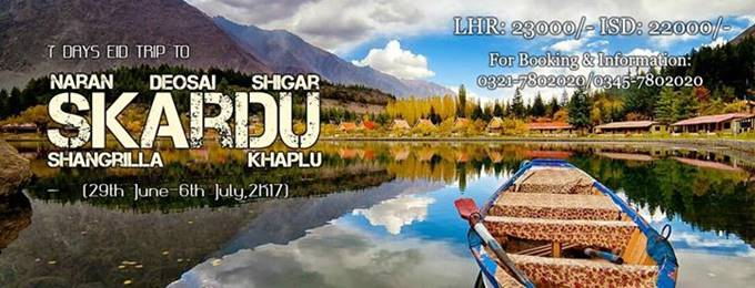 7 days trip to skardu,shigar,deosai & shangrilla -29 june-6 july