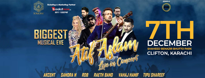 Biggest Musical EVE ft. Atif Aslam, Akcent, RDB & Sandra N