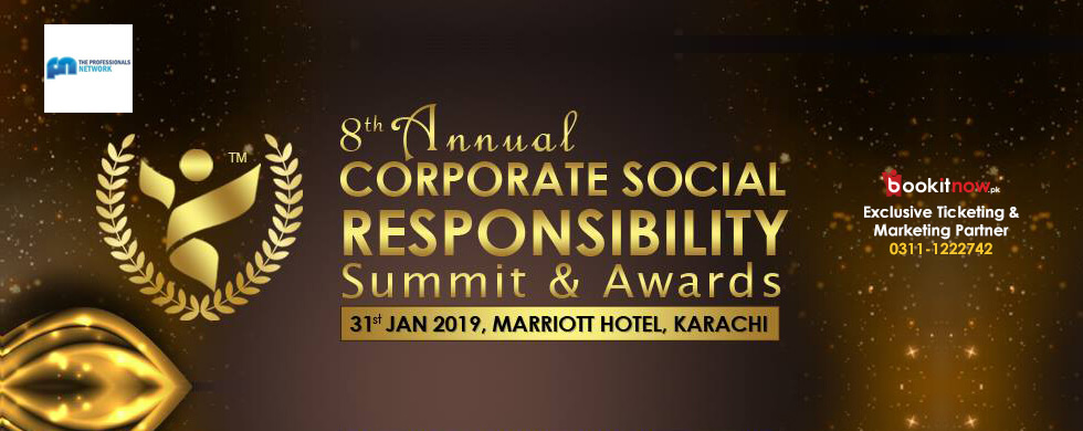 8th annual corporate social responsibility summit & awards 2019