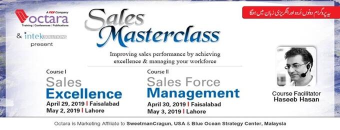 sales masterclass - lahore