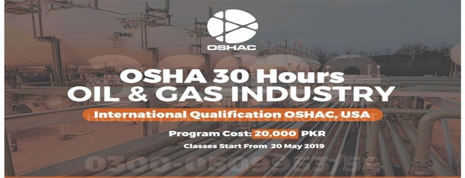 oshac 30 hrs. oil and gas industry
