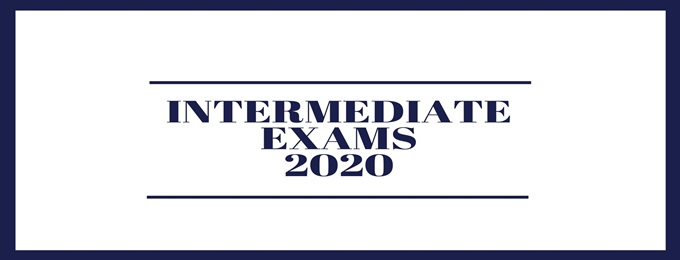 Intermediate Exams 2020