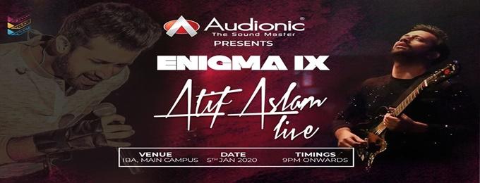 Audionic Presents Enigma IX - Atif Aslam Concert