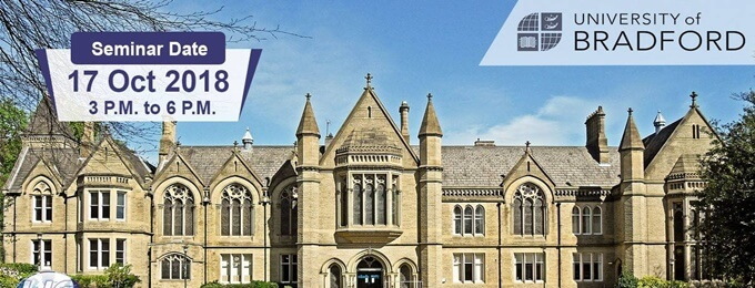 study in uk at university of bradford - with/without ielts