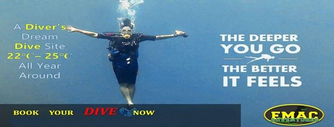 scuba diving & snorkeling | islamabad