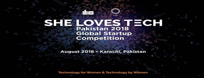 she loves tech pakistan 2018