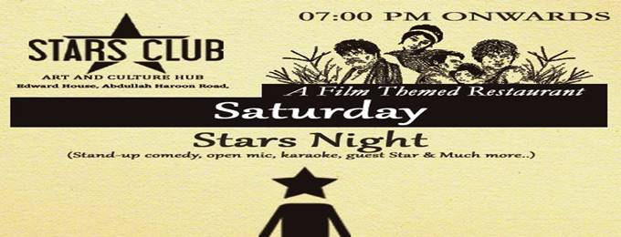 "every saturday ""stars night"""