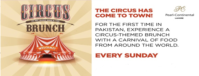 circus brunch