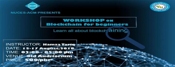 blockchain workshop for beginners