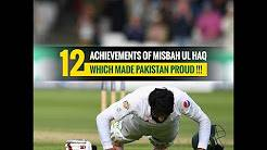 Misbah ul Haq's 12 Achievements which made Pakistan Proud