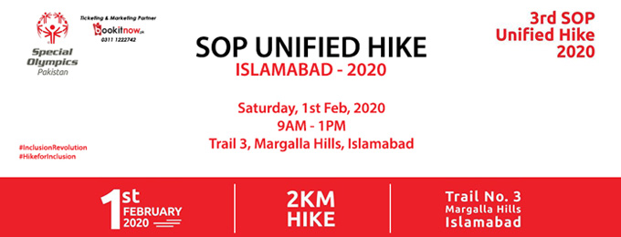3rd SOP Unified Hike 2020