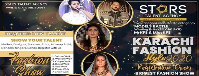 """karachi fashion style """"kfs2020"""" 2nd edition"""