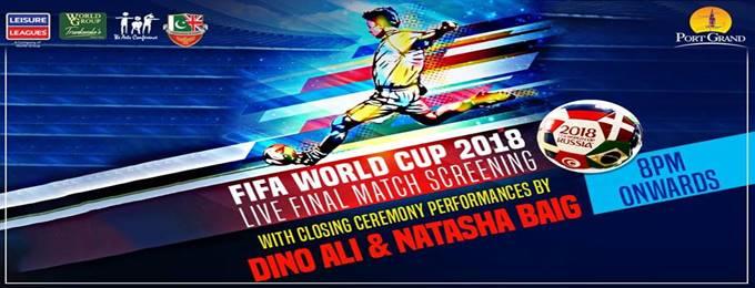 Fifa World Cup Final Screening