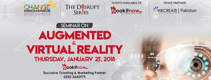 the disrupt series: seminar on augmented & virtual reality