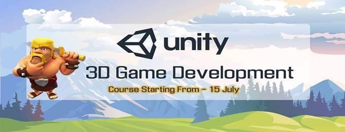 unity 3d game development course