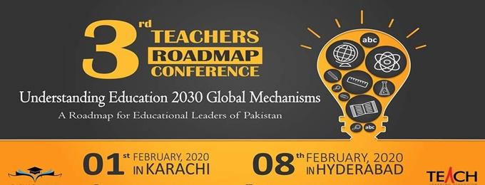 3rd teachers roadmap conference