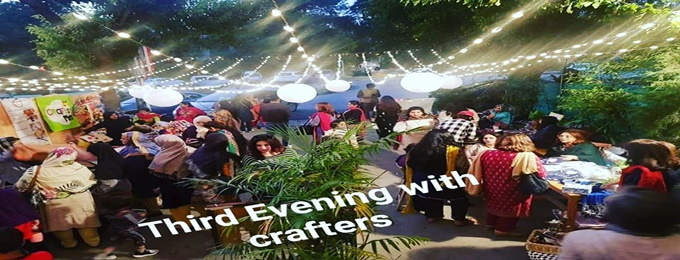 december 's evening with crafters