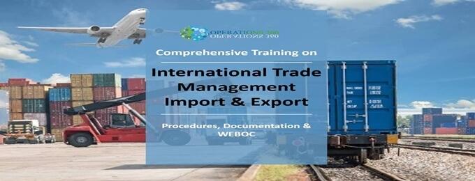 learn import export procedures document & weboc