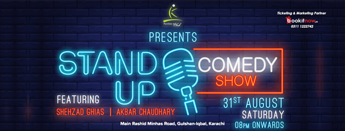 Stand-Up Comedy with Shehzad Ghias & Akbar Chaudhary