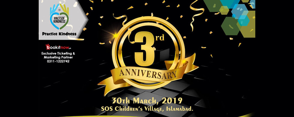 acts of kindness 3rd anniversary