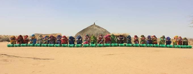we plan to visit abdullah mirani got and distribute 500 wheels