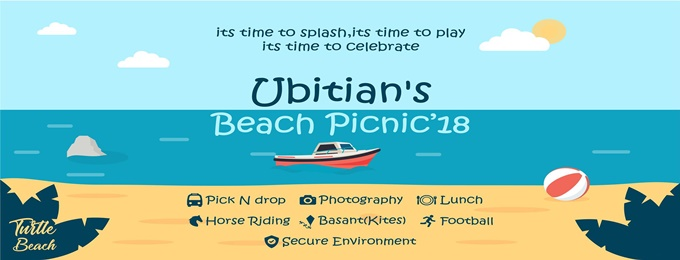 BIG Splash! - UBIT Beach Picnic