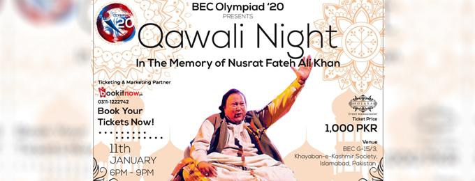 Qawali Night -In The Memory Of Nusrat Fateh Ali Khan- Islamabad