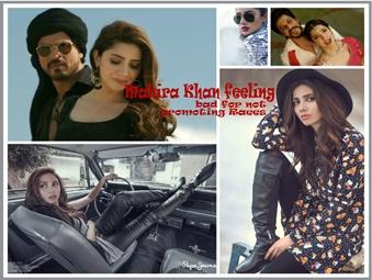 Mahira Khan's feeling bad for not promoting Raees