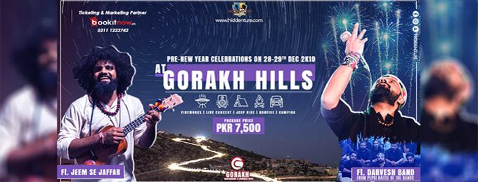 Pre-New Year Celebrations at Gorakh Hills | Ft. Darvesh & Jaffar