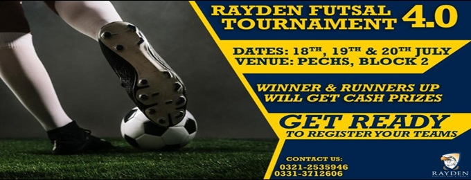 rayden futsal tournament 4.0
