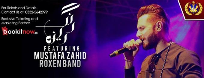 Rangreza-Mustafa Zahid (Roxen Band) Live in Concert Hyderabad