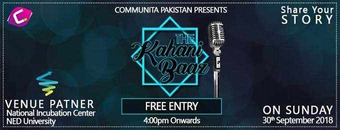 the kahani baaz ( storytelling n poetry)