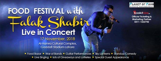 Winter food festival with Falak Shabir