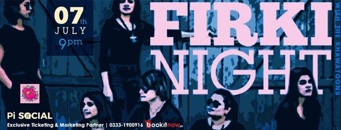 firki night with the khawatoons at pi social