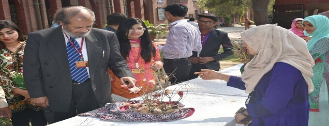 annual inter-collegiate/universities dry flower competition,2018