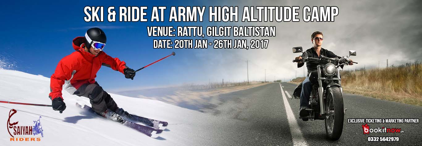ski & ride at army high altitude camp