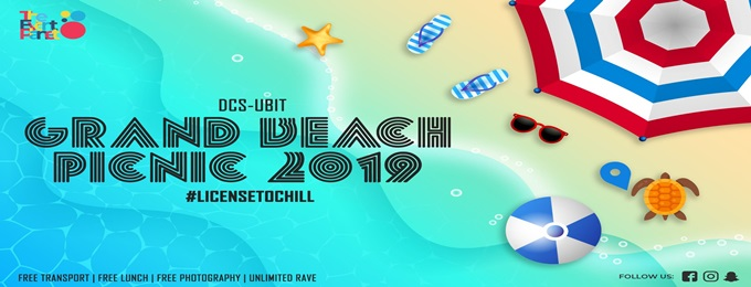 grand beach picnic'19 (dcs-ubit)