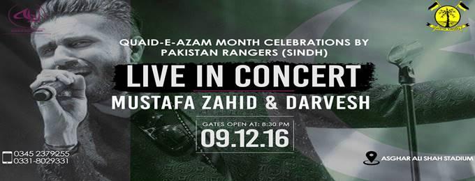 mustafa zahid & darvesh live - by pakistan rangers (sindh) karachi