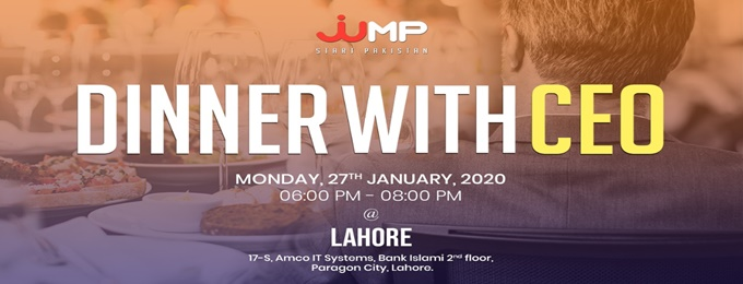 dinner with ceo - lahore