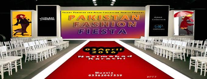 Pakistan Fashion Fiesta #PFF Karachi