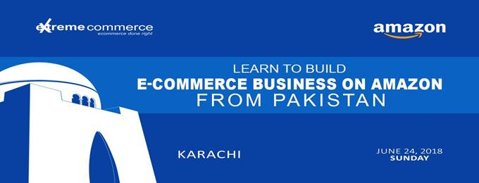 build business on amazon from karachi