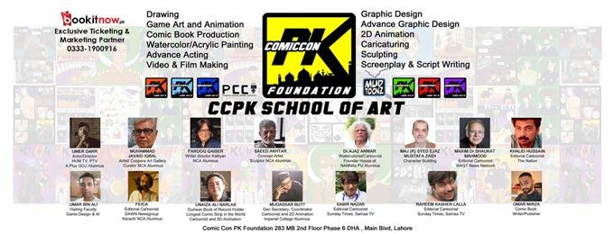 comic con pk 2018