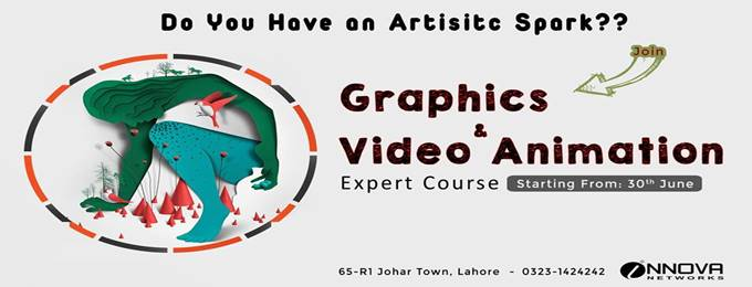 graphics & video animation expert course