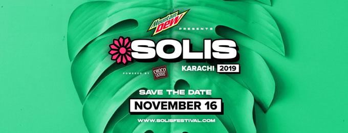 Mountain Dew Presents Solis Music & Arts Festival, Karachi