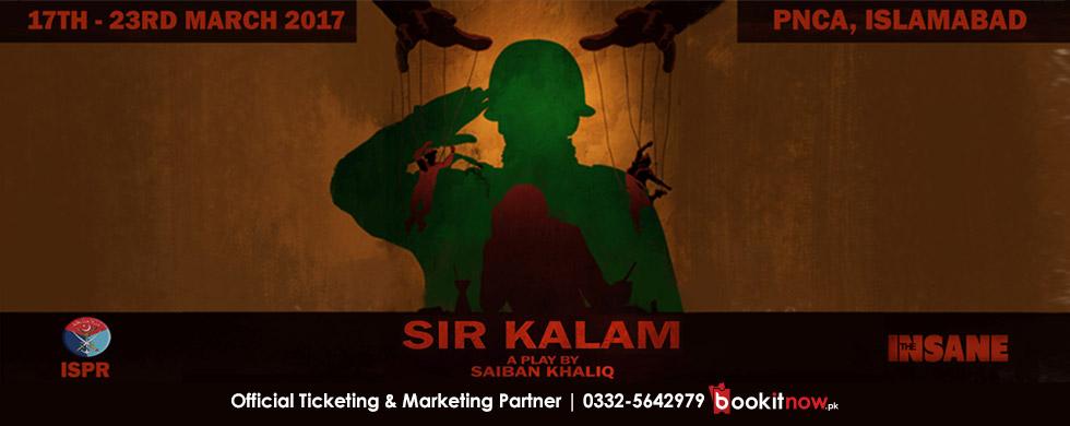 sir kalam - islamabad run